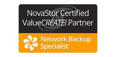 NovaStor Certified Partner Network Backup Specialist